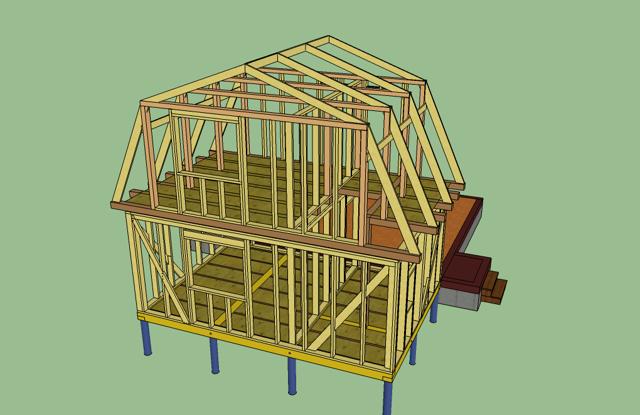 Как построить второй этаж в старом доме своими руками