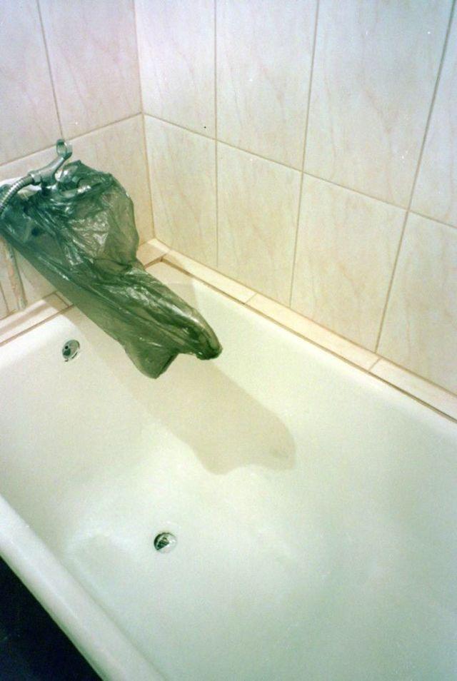 Восстановление эмали, реставрация ванны (старой, чугунной) своими руками, заделка сколов