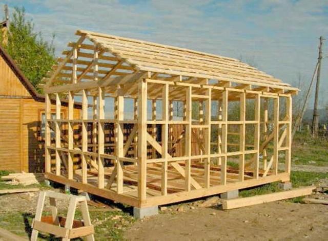Каркасные дома: пошаговая инструкция по строительству своими руками, сборка, схема