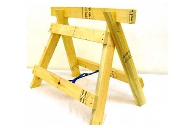 Как сделать строительные козлы своими руками