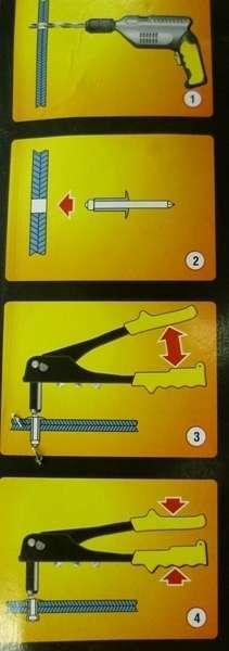 Клепальник ручной (заклепочник): как пользоваться и как выбрать