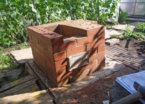 Как сложить печь из кирпича своими руками для дачи – пошаговая инструкция, схемы строительства