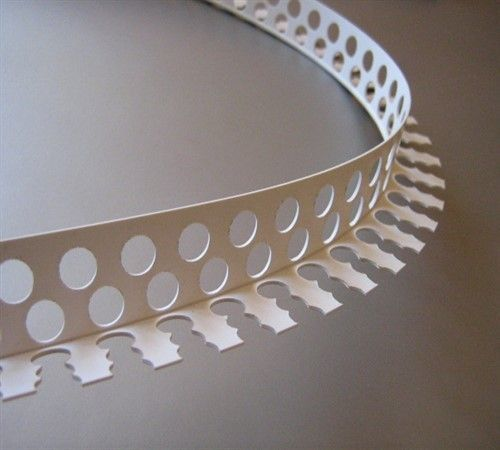 Пластиковые декоративные уголки для отделки арок