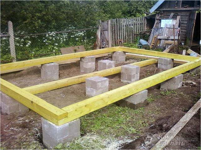 Строительство бани из бруса своими руками