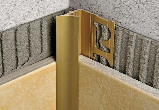 Какие бывают уголки для плитки, как правильно их устанавливать