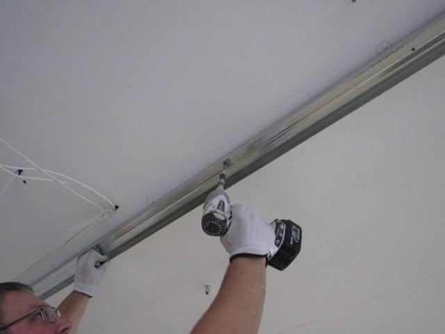 Монтаж многоуровневого потолка из гипсокартона своими руками