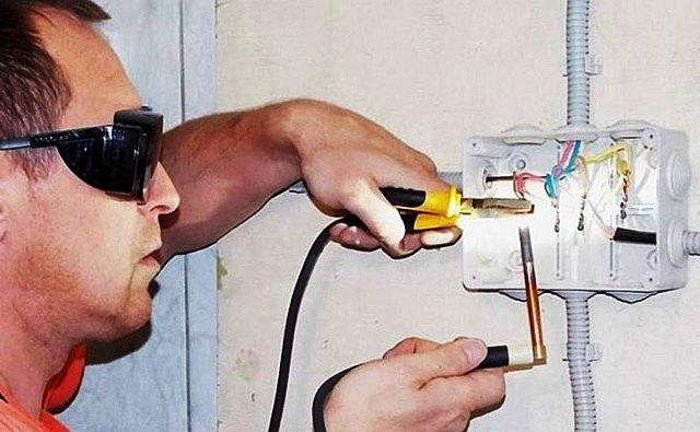 Сварка медных проводов своими руками при помощи аппарата инверторного типа