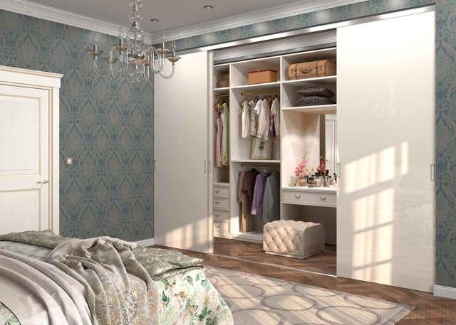 Обустройство гардеробной в квартире: варианты дизайна и проекты