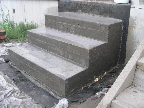 Как сделать ступени из бетона своими руками