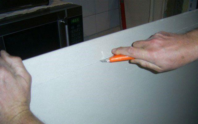 Как сделать откосы из гипсокартона своими руками