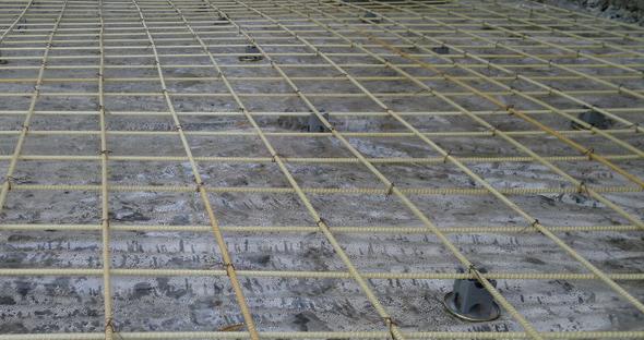 Заливка бетонного пола по грунту своими руками