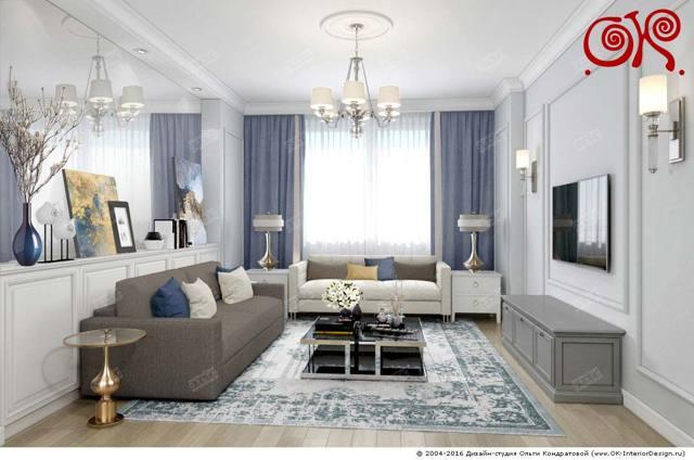 Дизайн маленькой и небольшой комнаты: идеи оформления интерьера, мебель