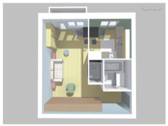 Варианты перепланировки квартиры в хрущевки с проходной комнатой