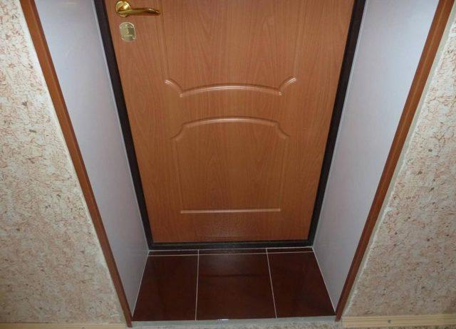Откосы для входных дверей: как сделать, установить своими руками, чем отделать?