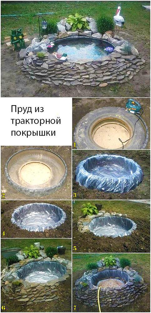 Как сделать пруд на даче своими руками пошагово