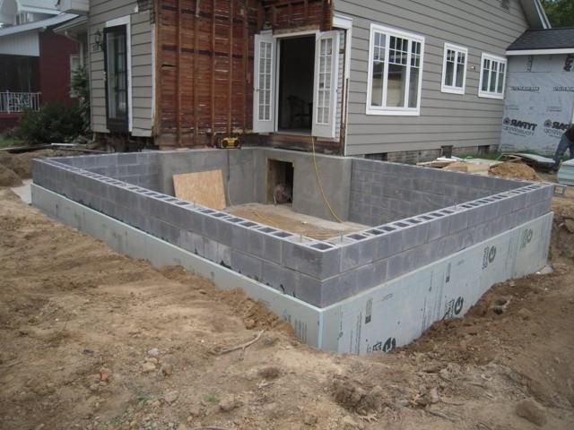 Какой фундамент нужен для дома из пеноблоков и как его сделать своими руками?