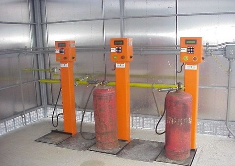 Сколько газа в баллоне 50 литров с пропаном?