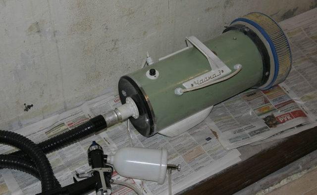 Краскопульт своими руками: как сделать пульверизатор из пылесоса