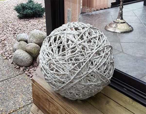 Как сделать фигуры для сада своими руками из дерева или других материалов