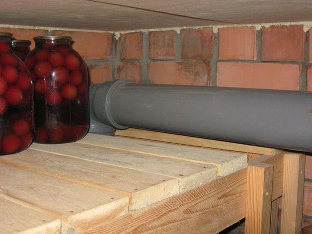 Вентиляция в погребе и гараже – самостоятельное обустройство вытяжки