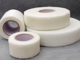 Армирующая лента для стыков гипсокартона: виды, особенности применения