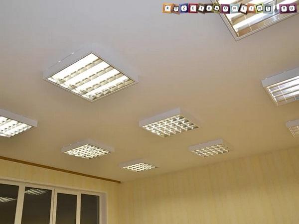 Как подключить светодиодную лампу вместо люминесцентной?