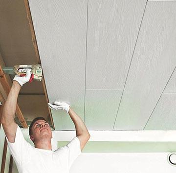 Монтаж потолка из панелей ПВХ своими руками