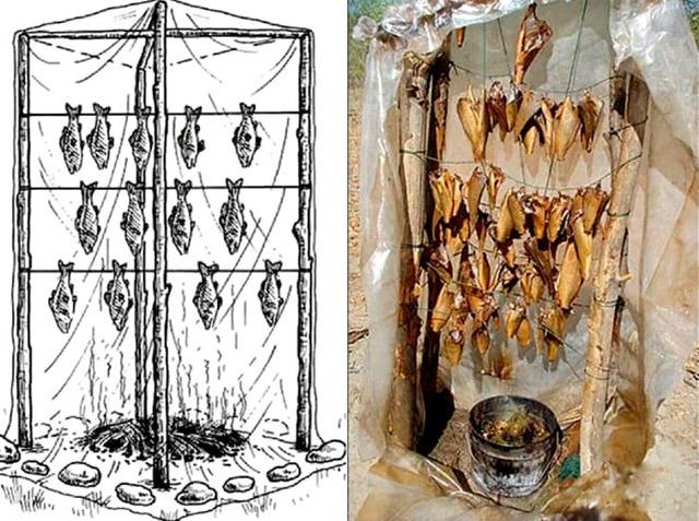 Коптильня своими руками – приспособление для готовки шикарных деликатесов