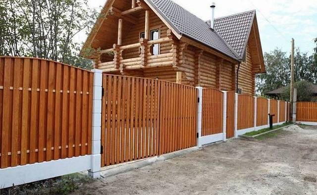 Забор для дачи своими руками: дешево и качественно