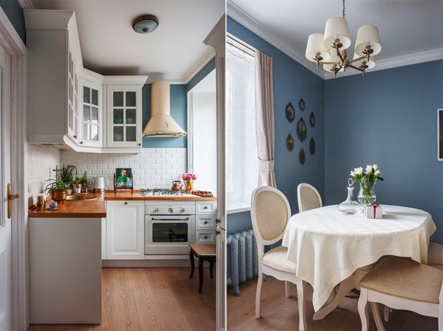 Обустройство кухни в квартире: дизайн интерьера