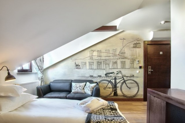 Роспись стен в квартире своими руками