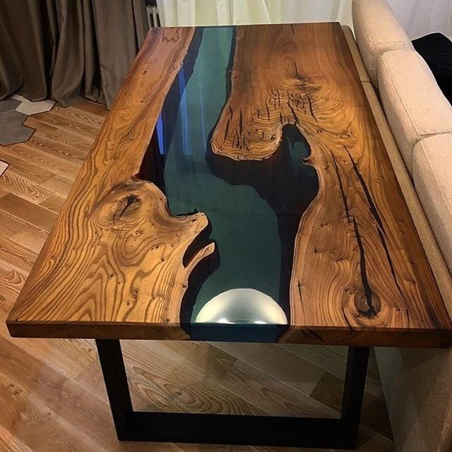 Мебель из эпоксидной смолы: как сделать своими руками?