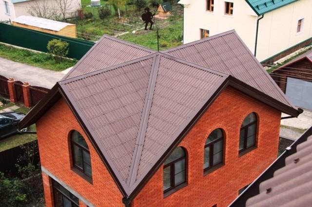 Расчет кровли: как правильно узнать площать крыши и необходимое количество материала