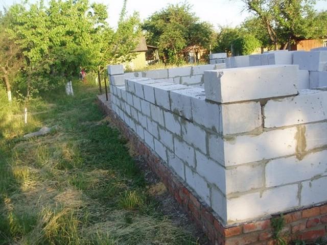 Строительство дома из газобетона (газоблока) своими руками